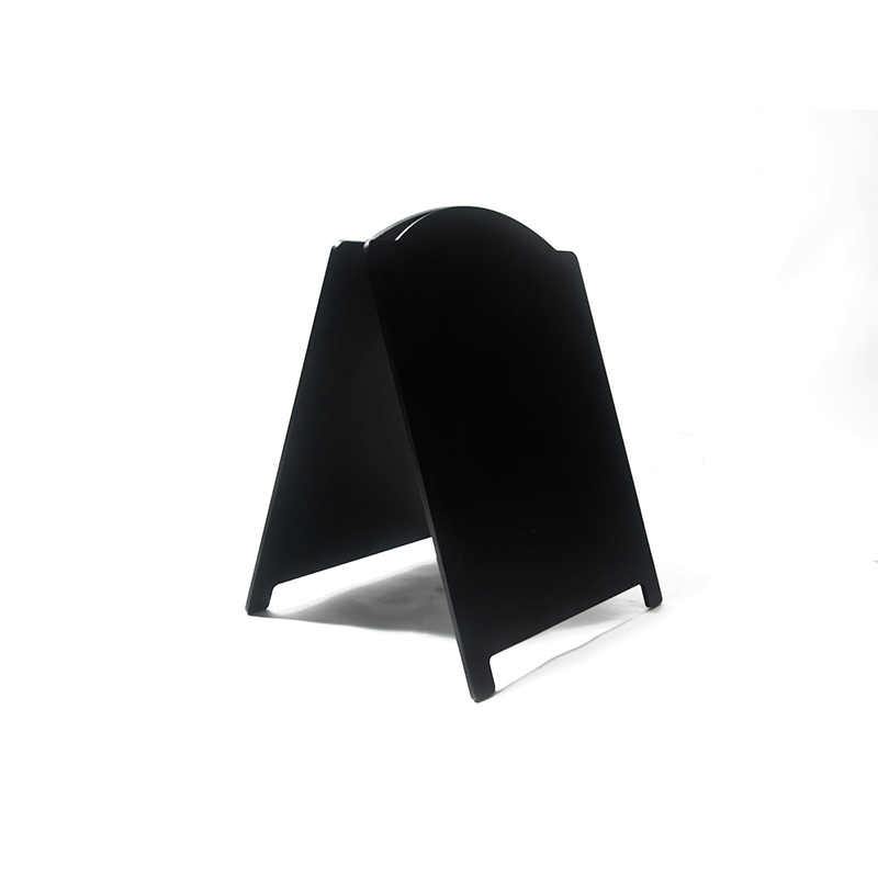 לוח גיר שחור רצפתי למסעדות