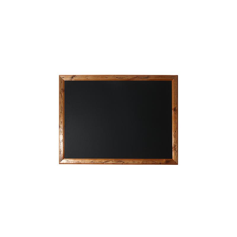 לוח גיר שחור לתליה עם מסגרת רטרו פרובנס
