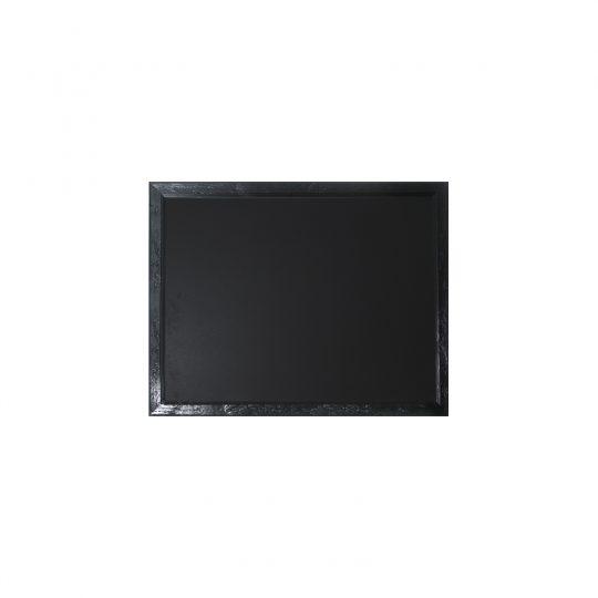 לוח גיר מסגרת עץ שחורה